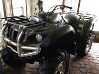 2002 Yamaha Grizzly ATV 660 ultramatic