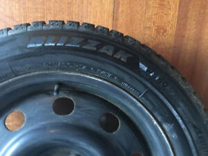 Ford Escape Winter Rims and Tires