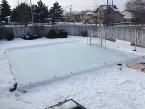 Rink Liner – 40' x 40' – 6 mil, 4 ply