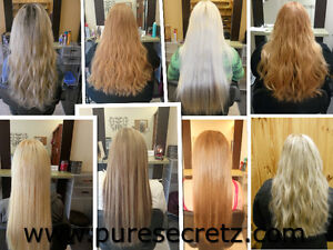 HAIR EXTENSIONS*Russian Fusion-GUARANTEED for Up to 1 YEAR Peterborough Peterborough Area image 3