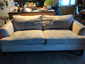 Used fabric couch