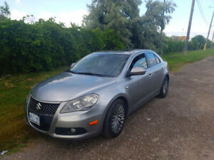 2013 Suzuki Kizashi w/Leather Trim & Rockford 425W Sound
