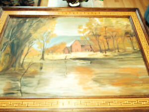 Oil Painting..  40+ years old  ** Price reduced **