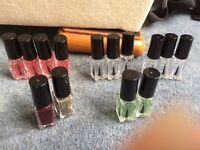 Katie rowland nail polishes BN