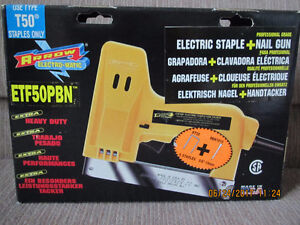Arrow Electric Staple and Nail Gun - NEW!