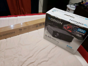Orion Projector R 200 4K Brand NEW UNOPENED