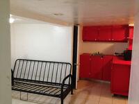 Bachelor --- basement (all inclusive) St clair & Dufferin )