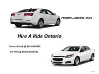 Hire A Ride Ontario - Personalized Ride Share