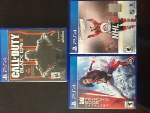PS4 games for trade or sale