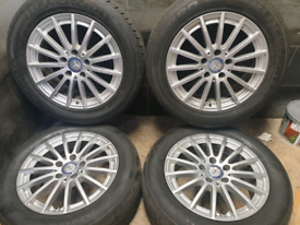 16 inch 5x112 genuine Mercedes C Class W205 alloy wheels