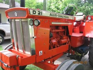 D21 Allis Chalmers 1966 Peterborough Peterborough Area image 3