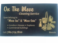 ON THE MOVE CLEANING SERVICES