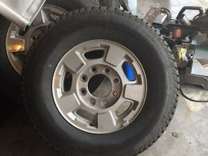 Chevy/gmc 8 bolt tires/rim