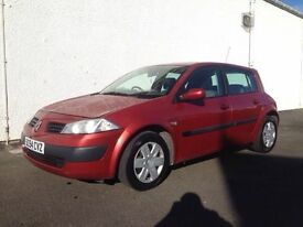 2005 RENAULT MEGANE RUSH 1.4L 5 DOOR HATCHBACK @ CLYDESIDE CAR SALES