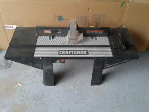 Router Table MasterCraft