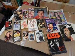 ELVIS Books and magazines