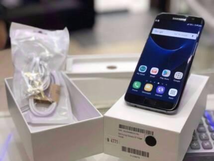 Original Galaxy S7 Edge 32GB Onyx Black unlocked 2 yrs warranty Surfers Paradise Gold Coast City Preview