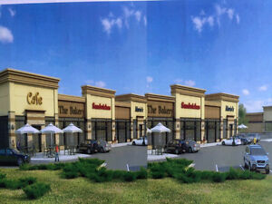 For lease stores/offices in brand new plaza