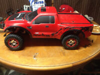 Traxxas Ford raptor brushed