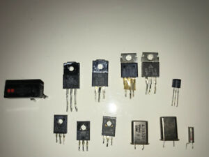 Technics 1200 turntable Regulators, Transistors, Crystal OSC