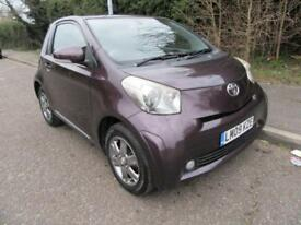 2009 TOYOTA IQ 1.0 VVT-i 2 MANUAL PETROL 3 DOOR HATCHBACK