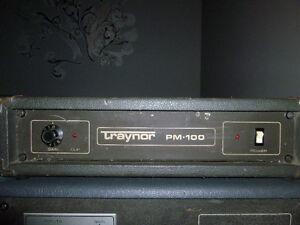 Ampli Traynor PM+100 (Vintage)