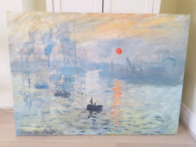 Impression Sunrise By Monet Impressionist Painting