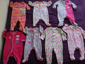 3-9 month baby girl clothes, jackets, pants, shoes, socks, hats