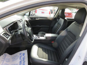 OEM Leather Seat Covers from Brand new 2017 Ford Fusion