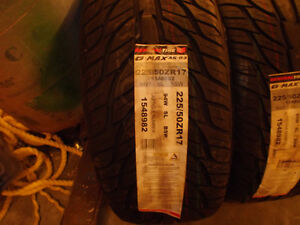 4 Brand New  225 50 ZR17 General GMAX AS 03 tires Sold PPU