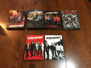 Entourage season 1-5 full dvds in cases
