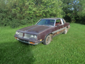 **1984 OLDSMOBILE CUTLASS FOR SALE OR TRADE FOR**