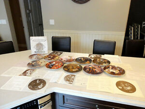Set of 10 Knowles Ltd. Edition Norman Rockwell Collector Plates Kitchener / Waterloo Kitchener Area image 1