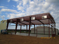Steel Building Erection Services in Leamington