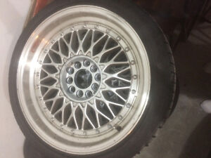 5x120/5x112 staggered BBS RS reps 18x9.5 18x8 Windsor Region Ontario image 1