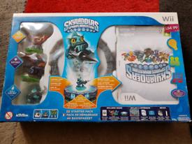 WII Skylanders game box set