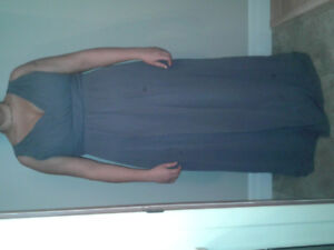 Stunning Charcoal Bridesmaid/Prom/New Years Dress $180 OBO