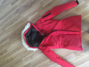 Selling Like New Red Canada Goose Coat