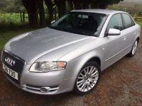 Audi A4 automatic silver service mot exceptional car £2675