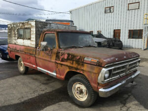 FOR SALE 1971 FORD F100 4X4 REDUCED