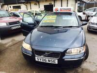 Volvo S60 2006 06 Plate Metallic Blue Auto Petrol Low Mileage 60.000 Only