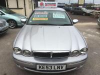 Jaguar X-TYPE 2.0 V6 auto SE Metallic Silver 5 Door Leather Seats