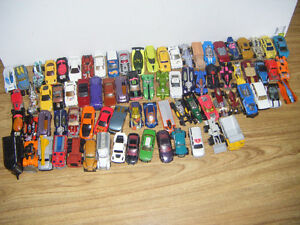 80 Hotwheels/Matchbox Toy Cars for sale
