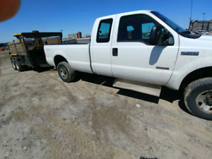 Trade 2006 Ford f250 diesel 4x4 for good travel trailer.
