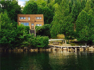 WATERFRONT COTTAGE for Sale - Only 50 minutes from Ottawa!!