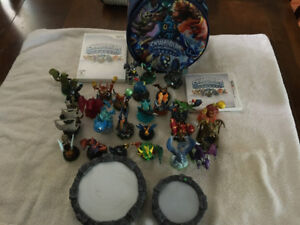 Skylanders with Wii game and Nintendo 3DS game