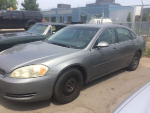 Chevy Impala 2007 For Sale $1100