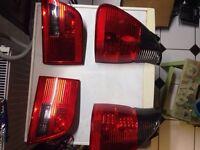BMW X5 headlights and tail lights