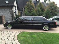 2007 Deville Cadillac DTS Limousine (Mint/Low Miles)
