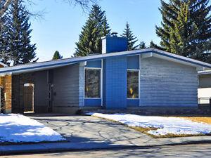 3 Bedroom Bungalow in SW Calgary for Rent $1,850 monthly